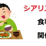 シアリスと食事の関係性│何をどれだけ食べてもOK?